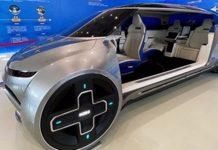 Vehicle-home appliance interconnection, 360-degree rotating seat (PRNewsfoto/GWM)